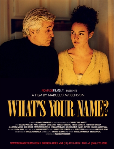 What's your name? Poster